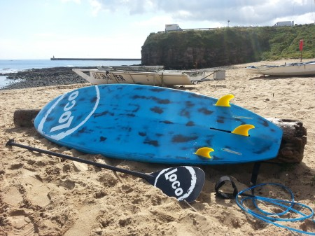 "Ex Demo 8'9"" Loco SUP Carbon Pro (Brush Blue)"