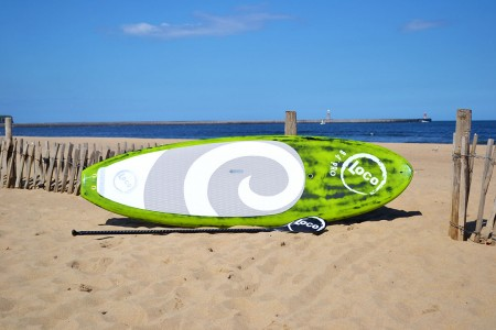 "8'4"" Loco SUP Carbon Pro (Brushed Green)"