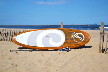 "8'4"" Loco SUP Carbon Pro (Brushed Orange) Paddle Board"