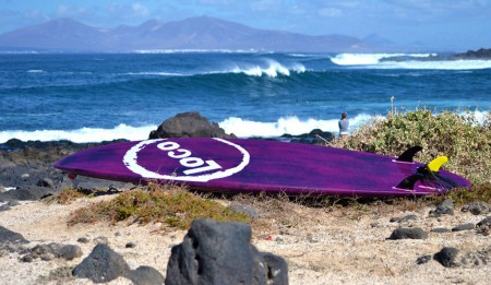 "8'9"" Loco SUP Carbon Pro (Ex test V1.0 Brushed Purple)"