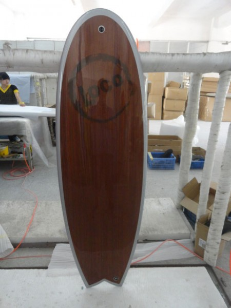 "5'10"" Magic Whale Wood"
