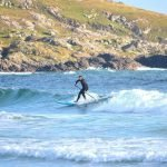 Paddle Surfing in Scotland 2014