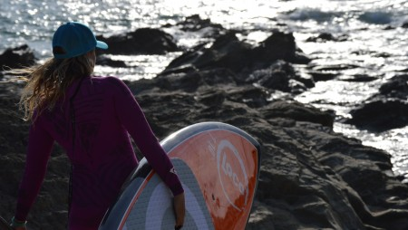 Paddle Surfing for Girls