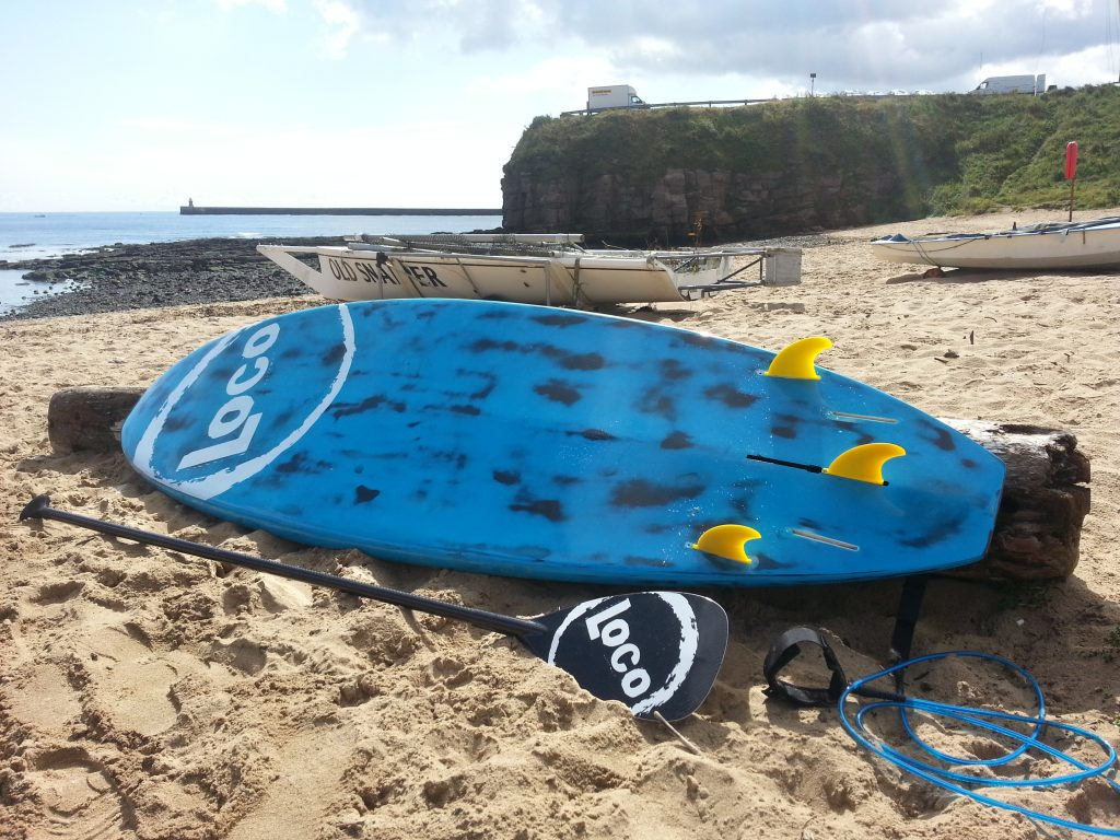 Loco Brushed Carbon Pro on Beach