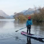 "12'6"" Loco Motion Air iSUP paddled at Snowdonia"