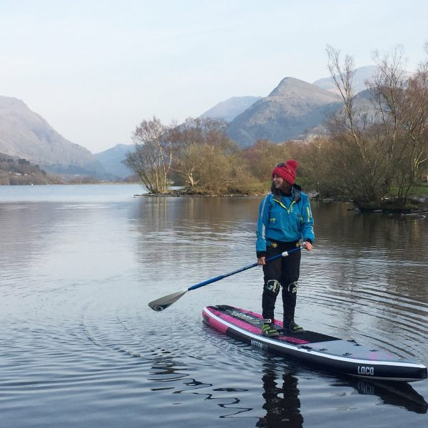 12'6'' Loco Motion Air iSUP paddled at Snowdonia