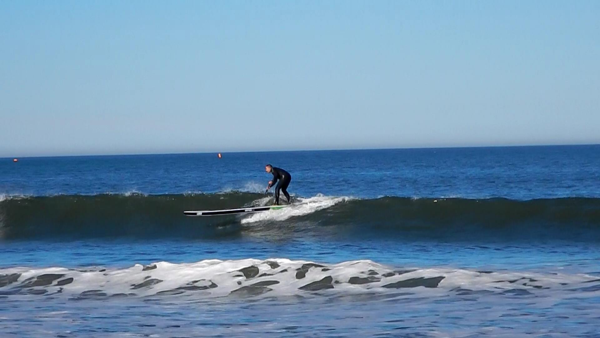 14′ Loco Motion Air iSUP Surfing Waves in North East