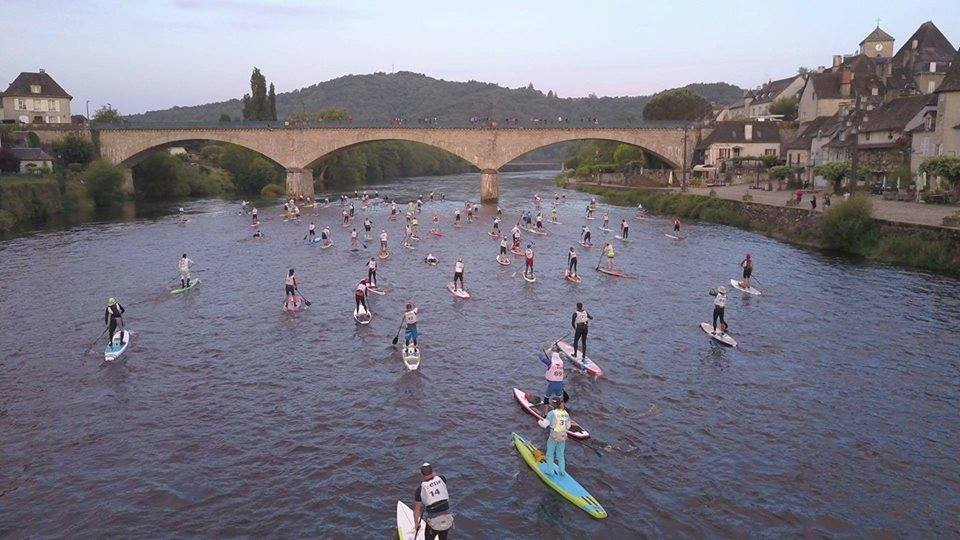 Loco Endurance iSUP Racing At The Dordogne Integrale In France