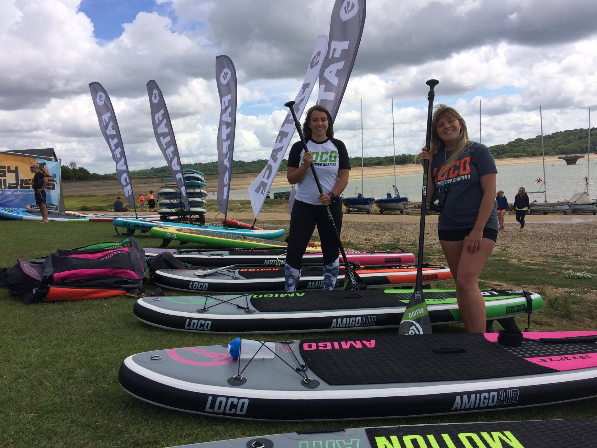 Loco Surfing at SUP Armada 2017