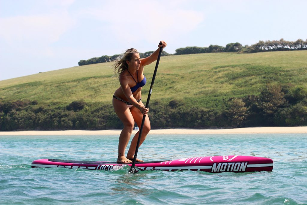 Purple Carbon 12'6'' Loco Motion Race SUP
