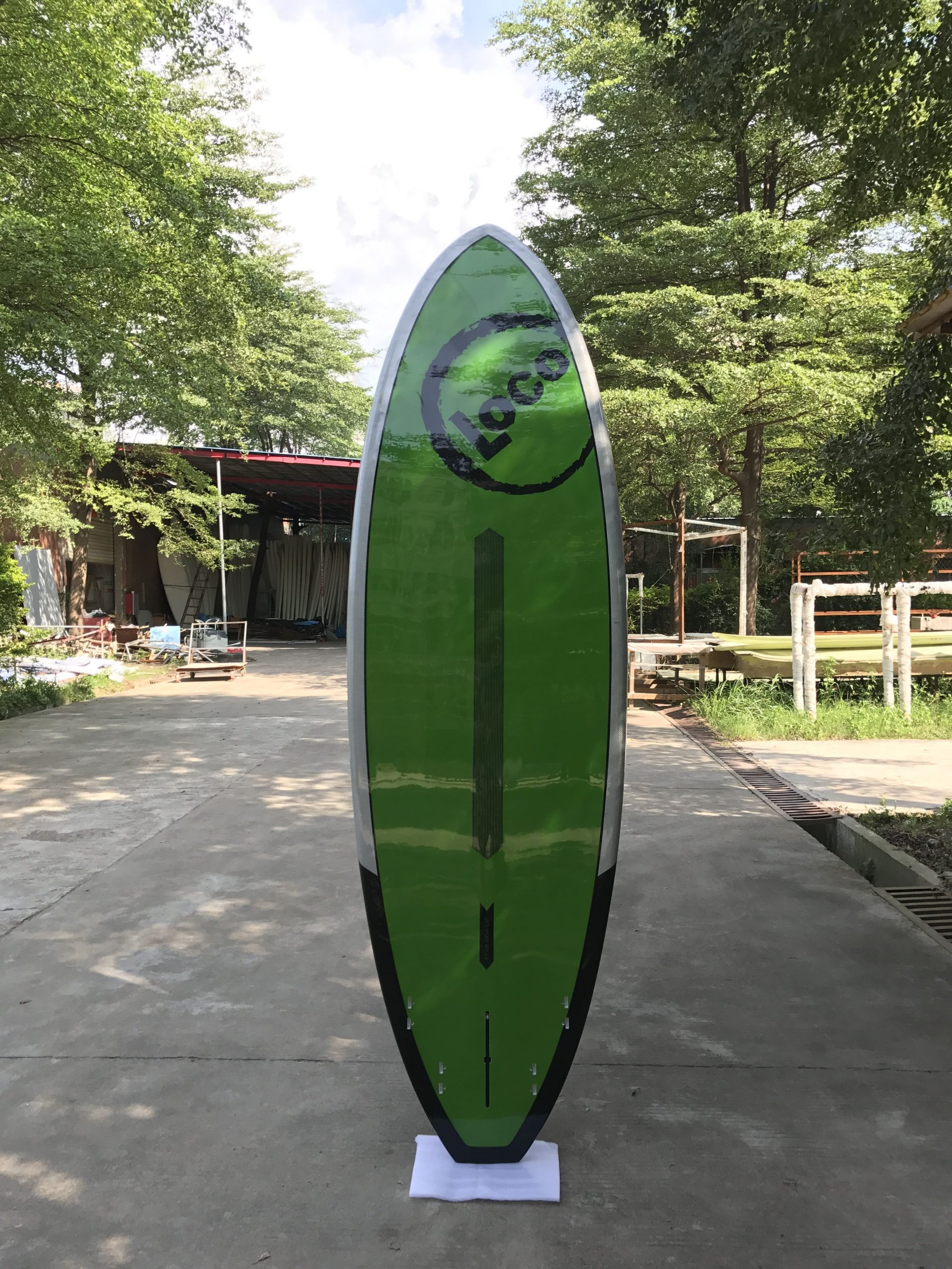 2018 Loco El Diablo SUP 8'2 bottom