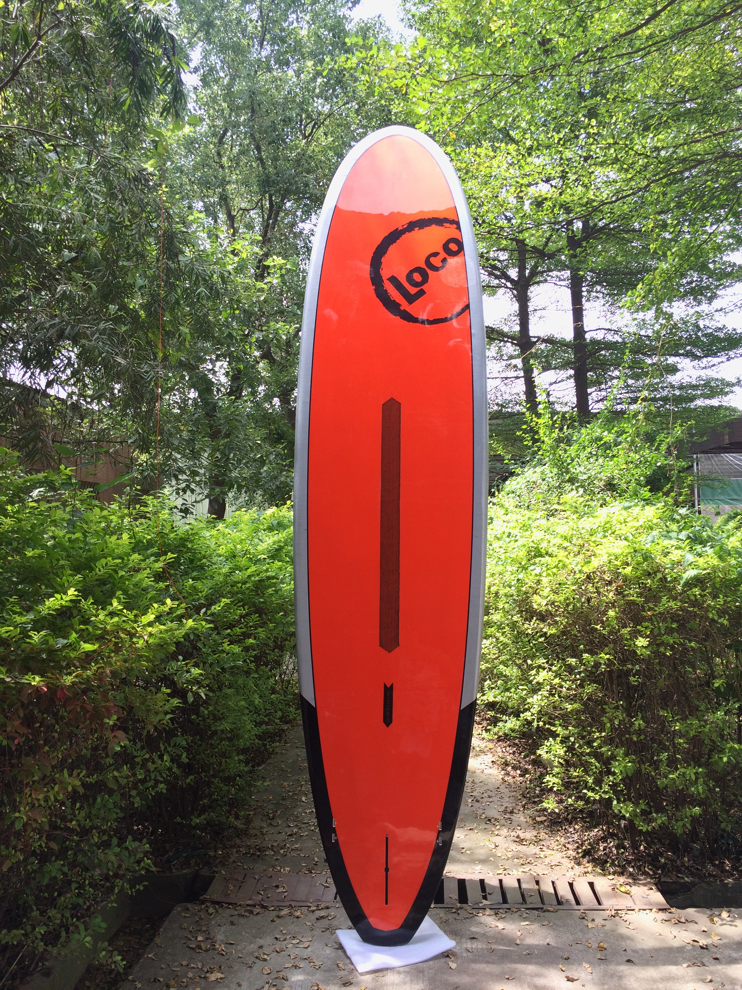 2018 Loco Inca SUP 11′ bottom