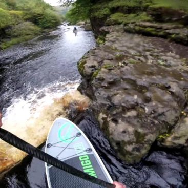 Loco White Water SUP Action