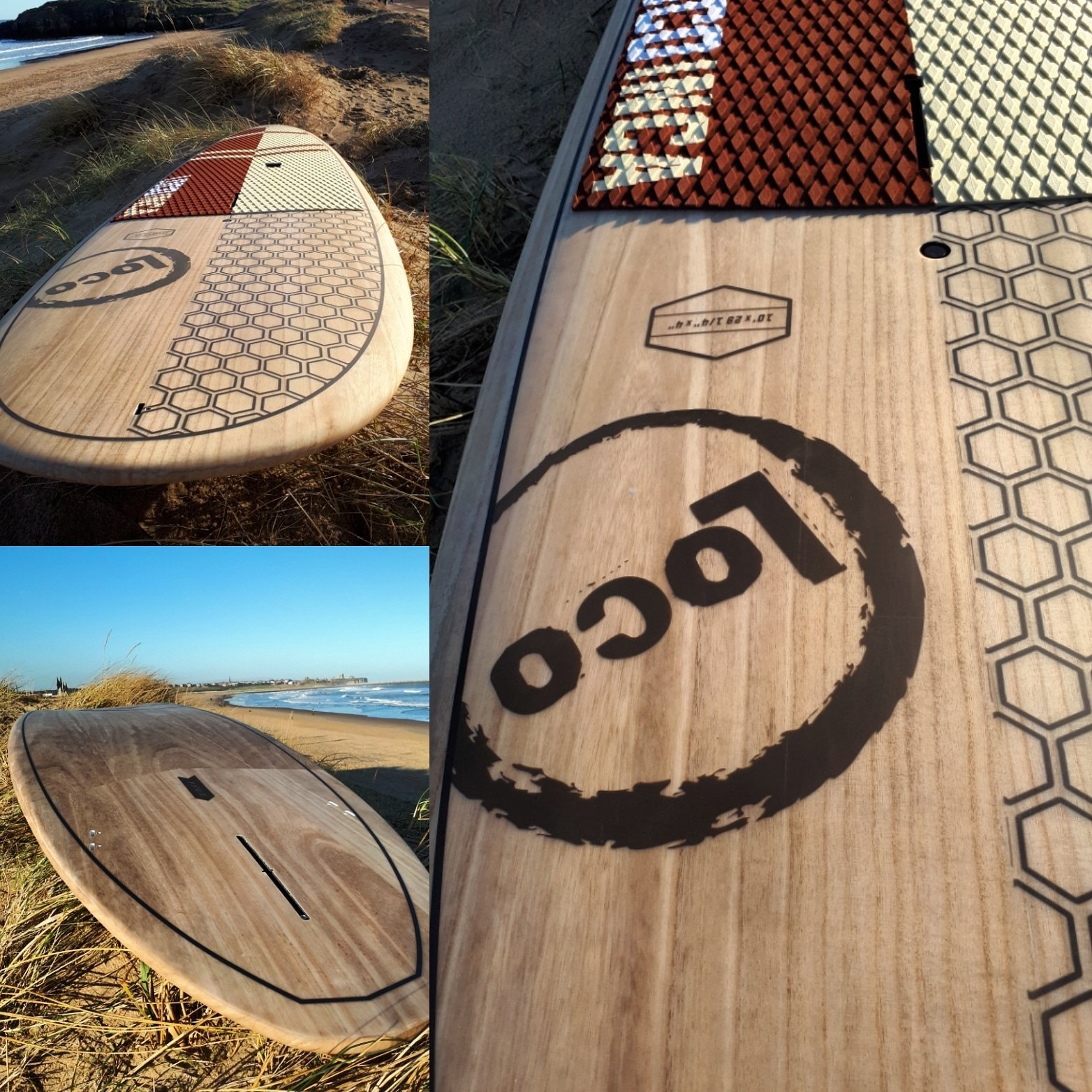Loco Inca Wood Surf SUP