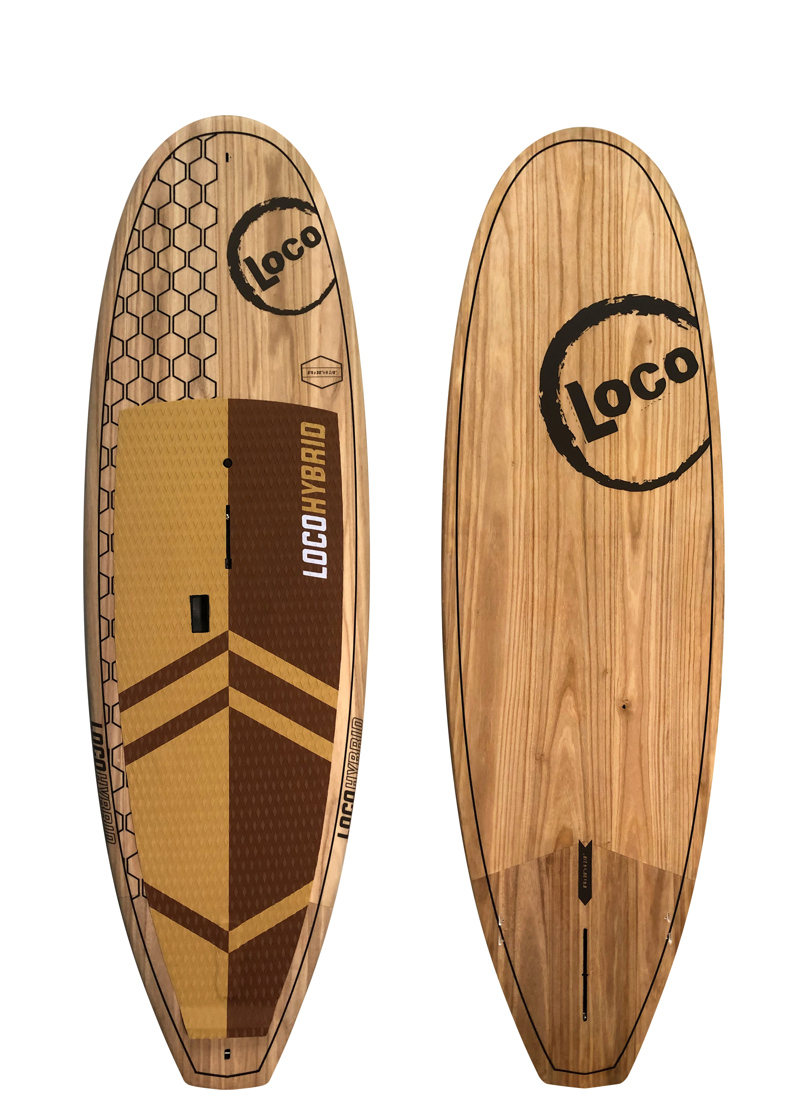 2020-Loco-Hybrid-SUP-In-Wood