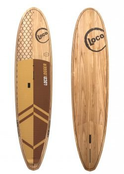 2020 Loco Logger Stand Up Paddle Board Wood SUP